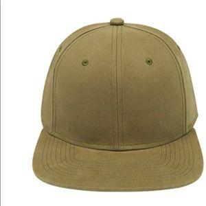 4/$25 Gents Olive Green Baseball Hat NEW O/S